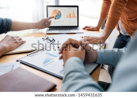 negócio · criador · equipe · reunião · discutir - foto stock © snowing