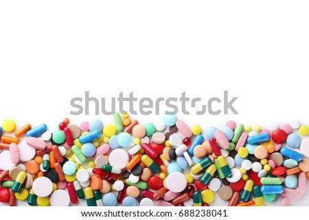 таблетки · медицинской · таблетка · синий · здоровья - Сток-фото © neirfy