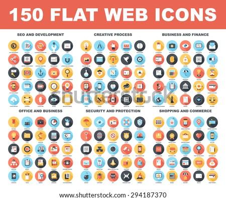 Web Themed Icon Set Stock photo © cteconsulting