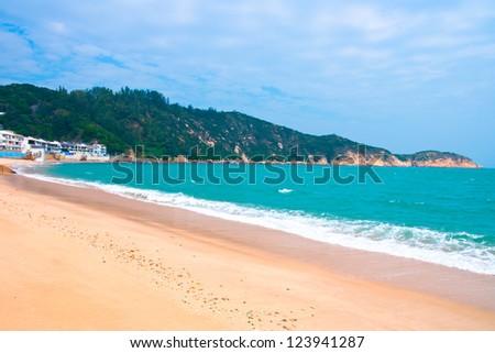 Beach in Cheung Chau, Hong Kong. Stock photo © kawing921