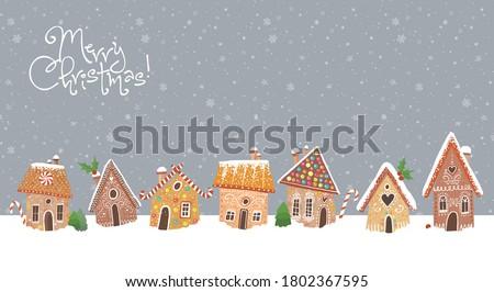 Рождества · пряничный · Cookies · Sweet · Cookie · горизонтальный - Сток-фото © MKucova