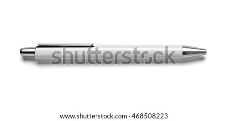 Ball point pen isolated on white Stock photo © vtls