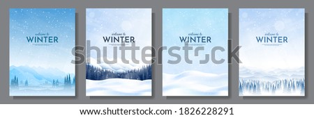 Winter landscape Stock photo © igabriela