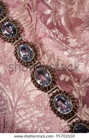 Antique Garnet Braclet Stock photo © sarkao