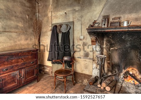 Rustic residence in Italy Stock photo © sumners