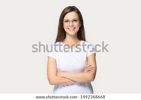 Portrait of a bright businesswoman standing  stock photo © wavebreak_media