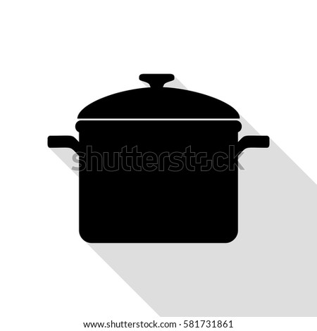 Square Shape Stew Pot  Stock photo © zhekos