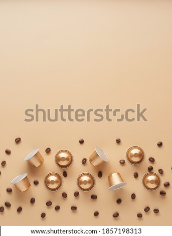 Seed of coffee with capsule Stock photo © Studio_3321