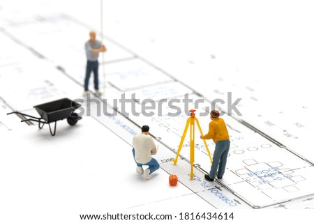 person protecting miniature house stock photo © andreypopov