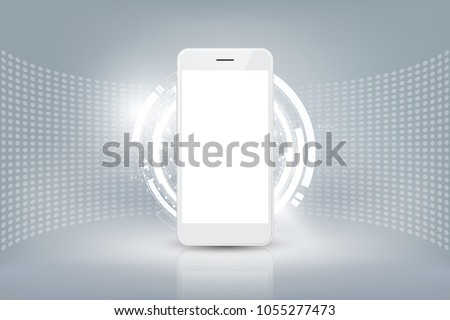 Smartphone application abstract concept vector illustrations. Stock photo © RAStudio