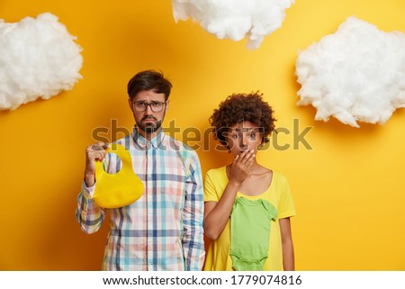Jovem família criança preparado homem Foto stock © pekour