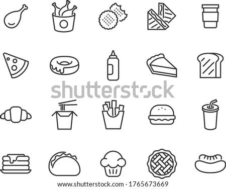 Eating a hamburger and cheese puffs Stock photo © sumners