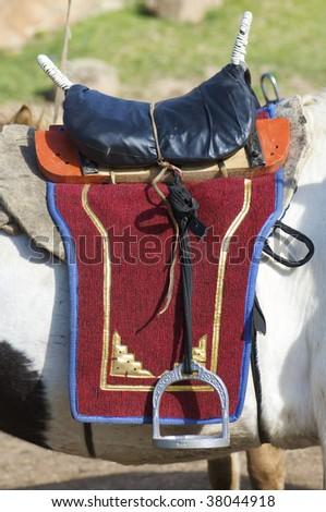 Mongolian seddle Stock photo © pedrosala