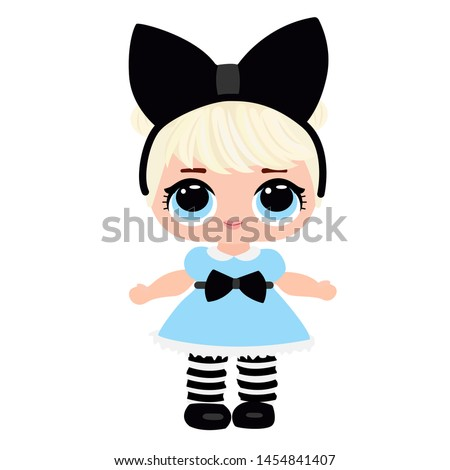 Blonde doll Stock photo © gavran333
