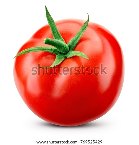 red tomato isolated on the white background  Stock photo © natika