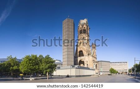 Kaiser Wilhelm Memorial Church Stock photo © joyr