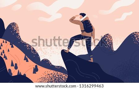 The explorer Stock photo © RazvanPhotography