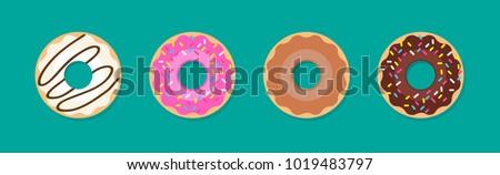 donuts · details · apart · voedsel · kind - stockfoto © vladacanon