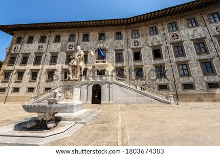 Piazza dei Cavalieri, Pisa, Italy Stock photo © borisb17