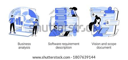 Documentazione gestione vettore metafora colorato icona Foto d'archivio © RAStudio