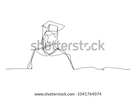 College graduation vector concept metaphor Stock photo © RAStudio