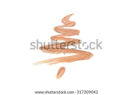 Liquid foundation Christmas tree Stock photo © goir