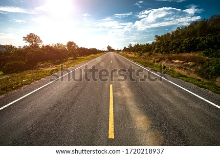 empty road stock photo © pakhnyushchyy