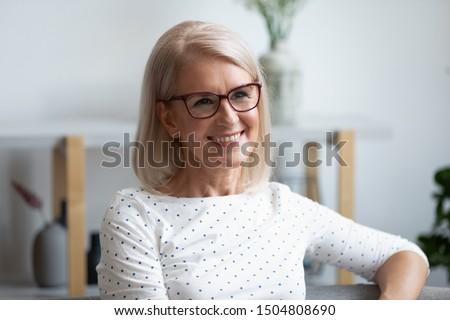 Foto stock: Beleza · cabeça · tiro · mulher · desgaste · quebrado