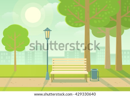 Blue sky, green grass and town Stock photo © cherezoff