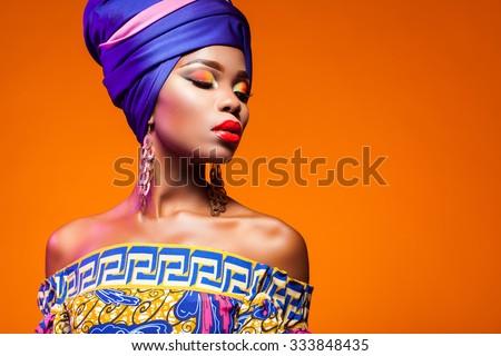 African Model Stock photo © vanessavr