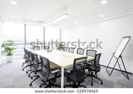 Meeting room interior Stock photo © raywoo