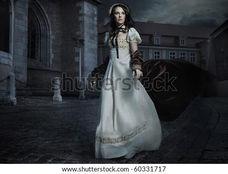 dinamik · fotoğraf · genç · bayan · kadın · seksi - stok fotoğraf © konradbak