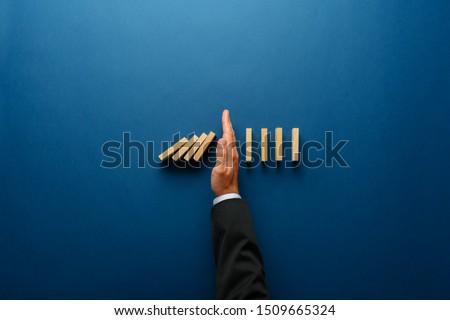 риск · написанный · мелом · графических · слово - Сток-фото © Fotografiche