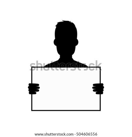 Silhueta cara vetor arte Foto stock © vector1st