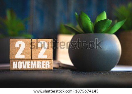 Cubes 22nd November Stock photo © Oakozhan
