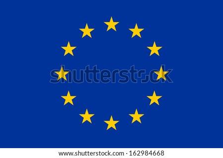 Евросоюз флаг небе звездой исследование облаке Сток-фото © wavebreak_media