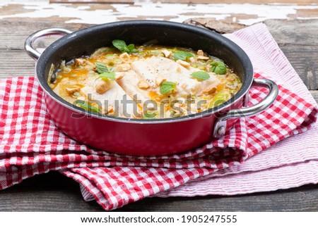 filé · de · comida · bife · prato · placas - foto stock © phbcz