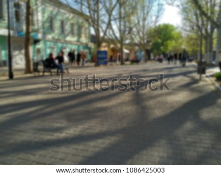 woman in small city stock photo © ssuaphoto