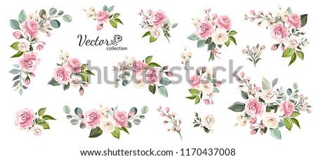Rózsaszín virágok közelkép fa égbolt virág Stock fotó © Koufax73