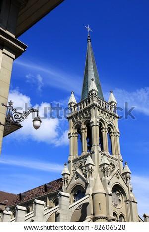 Saint Peter and Paul Church, Bern Stock photo © borisb17