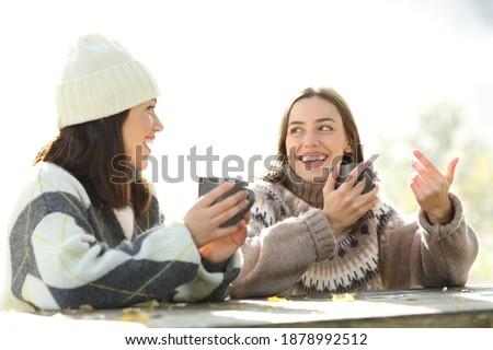 два молодые пары разделение завтрак терраса Сток-фото © photography33