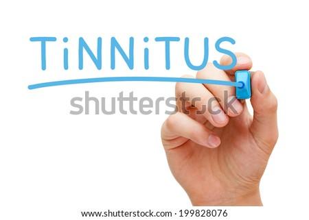 Tinnitus Blue Marker Stock photo © ivelin