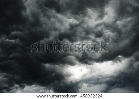 Dark clouds Stock photo © manfredxy