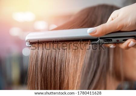 electric iron for hair stock photo © ozaiachin