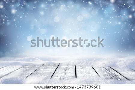 Varázslatos tél fantázia hó tájkép sarkköri Stock fotó © Lightsource