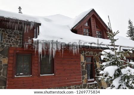 屋根 · 水 · ホーム · クール · 写真 · 屋外 - ストックフォト © kotenko