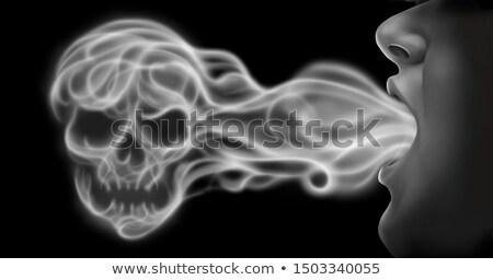 Vaping Death Stock photo © Lightsource