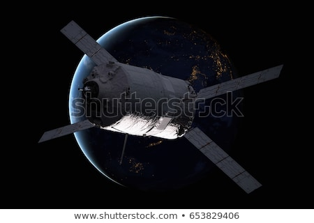 Kargo transfer araç dünya gezegeni elemanları görüntü Stok fotoğraf © NASA_images