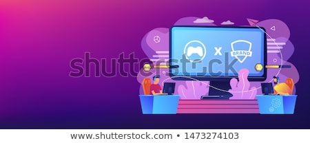 eSports collaboration concept vector illustration Stock photo © RAStudio