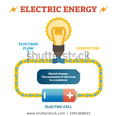 Equipment with Current, Electronics Objects Vector Stock photo © robuart